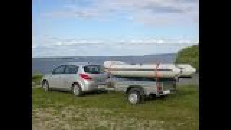 прицеп на легковое авто под лодку